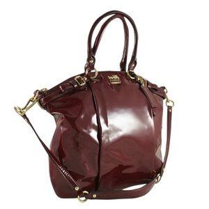 Coach Madison Lindsey Satchel Handbag